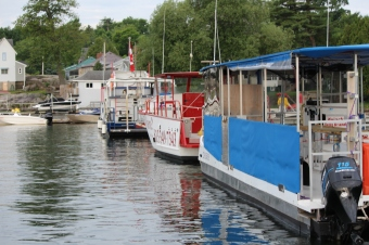 Local dive boats donate their boats and time to shuttle guests to the