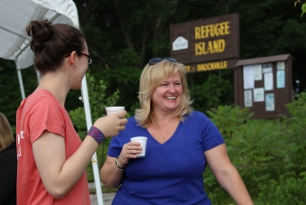Coffee on Refugee Island, Brockville